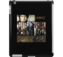 The Hobbit - Bilbo, Thorin, the Dwarves and Smaug iPad Case/Skin
