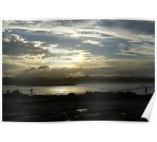Sunset at Currumbin Poster