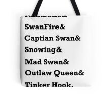 Once Upon a Time Ships Tote Bag