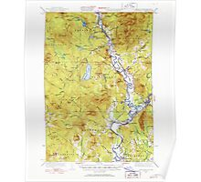 USGS Topo Map  Vermont VT Guildhall 337951 1933 62500 Poster