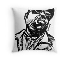 Biggy Biggy Biggy Can't You See Throw Pillow