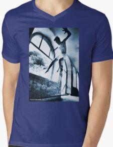 Young angel Mens V-Neck T-Shirt
