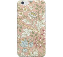 William Morris Floral Paper Pink Blue White iPhone Case/Skin