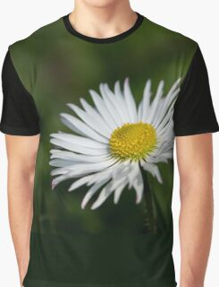 White flower Graphic T-Shirt