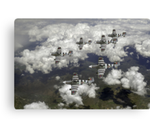 D-Day Mustangs Canvas Print