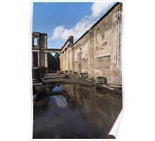 Reflecting on Pompeii Poster