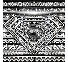 Hope sign Black and white Aztec Pattern Photographic Print
