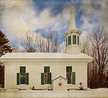 Phillipsport Country Church by PineSinger