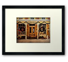 Fulton and Holmes General Store  Framed Print