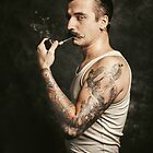 Mustache II by liquornoire