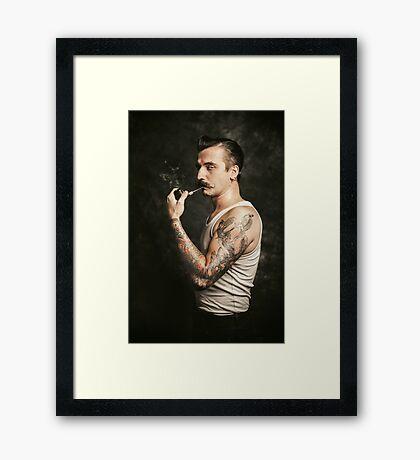 Mustache II Framed Print