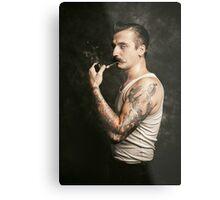 Mustache II Metal Print