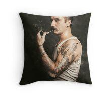 Mustache II Throw Pillow