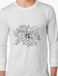 Math tree [light] Long Sleeve T-Shirt