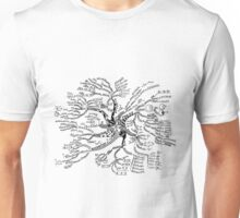 Math tree [light] Unisex T-Shirt