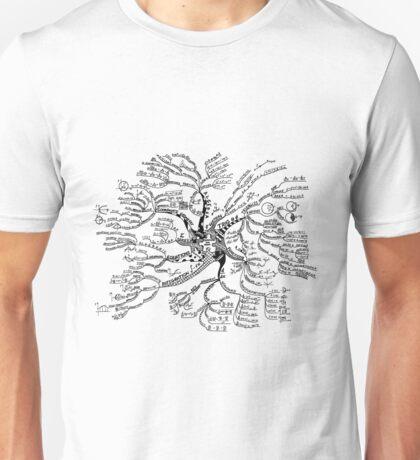 Math tree [light] Unisex T-Shirt