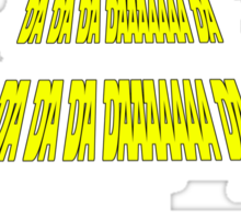 Phonetic Star Wars Sticker