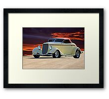 1934 Ford Convertible Coupe Framed Print