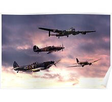 Battle of Britain Memorial Flight Poster