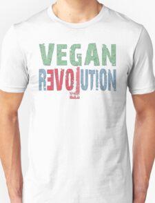 VEGAN REVOLUTION - vegan, vegetarian, animal rights, cruelty to animals T-Shirt
