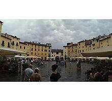 Lucca Piazza dell'Anfiteatro Photographic Print