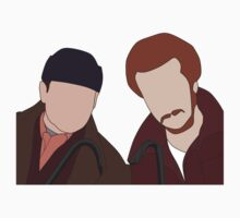 Harry and Marv, Home Alone Faceless by Jordan Turner