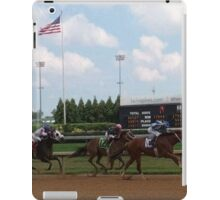 Horserace at Churchill Downs iPad Case/Skin