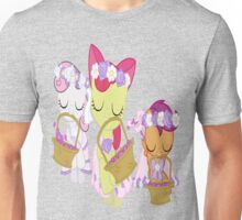 Cutie Mark Crusaders Flower Fillies! Unisex T-Shirt