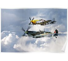 Flying Brothers Poster