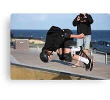 Floating A Backside Ollie Canvas Print