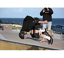 Floating A Backside Ollie Photographic Print
