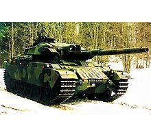 Stridsvagn 105 Main Battle Tank Photographic Print