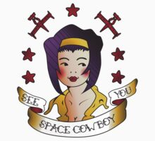 See you, space cowboy. by katharynmarie