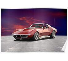 C3 Corvette Stingray Poster