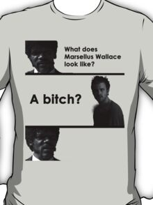 What Does He Look Like? T-Shirt