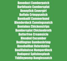 Beneduct Cumberpatch (centred text) Kids Clothes