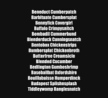 Beneduct Cumberpatch (centred text) Unisex T-Shirt