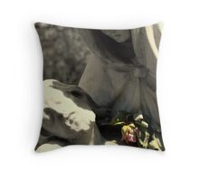 Devine In Stone Throw Pillow