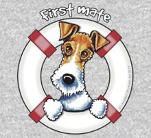 Wire Fox Terrier : First Mate One Piece - Long Sleeve
