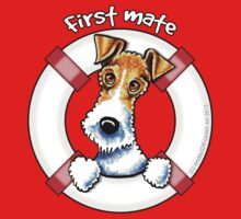 Wire Fox Terrier : First Mate by offleashart
