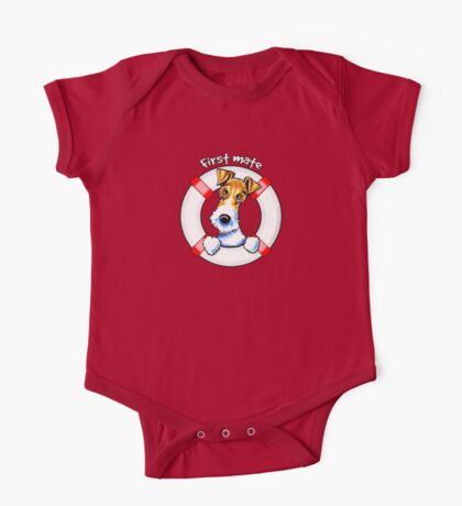 Wire Fox Terrier : First Mate One Piece - Short Sleeve