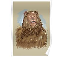 The Cowardly Lion Poster