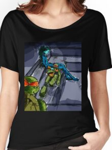 TMNT - Couch cushion bingo Women's Relaxed Fit T-Shirt