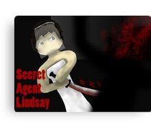 Secret agent Lindsay Canvas Print
