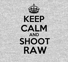 Keep calm and shoot raw Long Sleeve T-Shirt