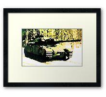 Stridsvagn 105 Main Battle Tank e2 Framed Print