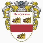 Henderson Coat of Arms/Family Crest by William Martin