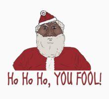Angry Black Santa Claus  by ibadishi