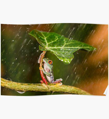 Ohh No... :( Raining Poster