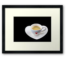 Fancy a Cup of Coffee? Framed Print